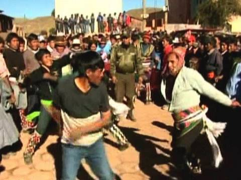 Massive Bolivian Punch Up