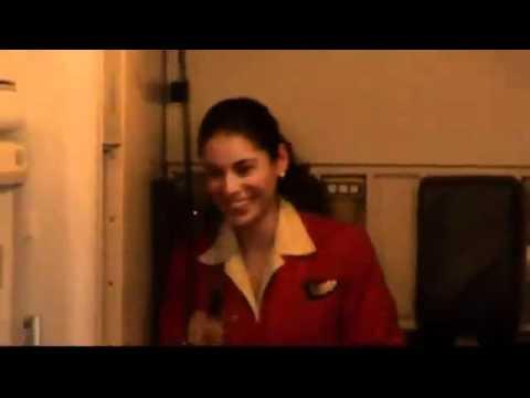 Mid Air Proposal For Air Stewardess