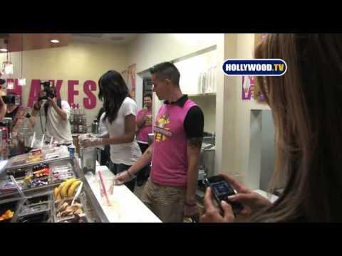 Miss Kardashian at Millions of Milkshakes in Los Angeles
