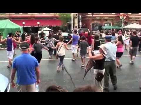 Rainy Day Street Dancing