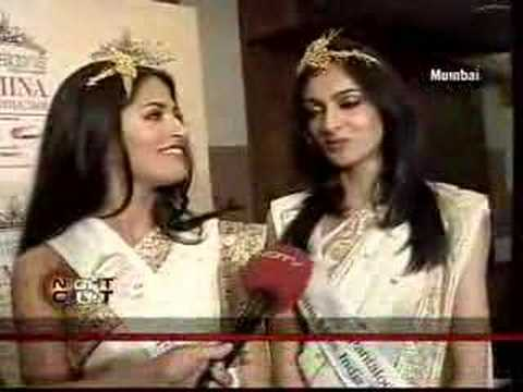 Rendezvous with Miss India 2009 Winners