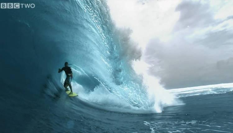 Super Slo-mo Surfer, South Pacific