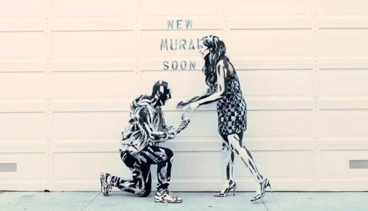 The Most Artistic Marriage Proposals Realized On This Wall