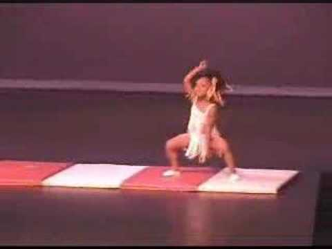 Tina Turner Dance by 4 Year Old Gymnast