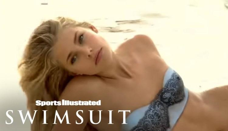 Tori Praver Sports Illustrated Body Painting Shoot