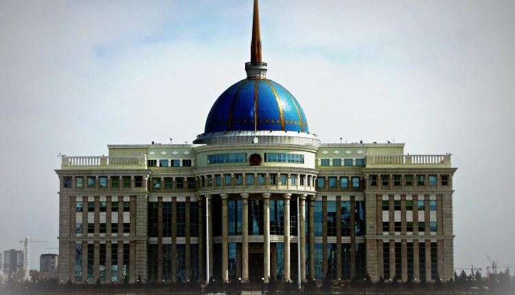 A Glimpse Of Astana, Capital Of Kazakhstan