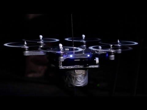 Amazing Flying Robot Rockstars