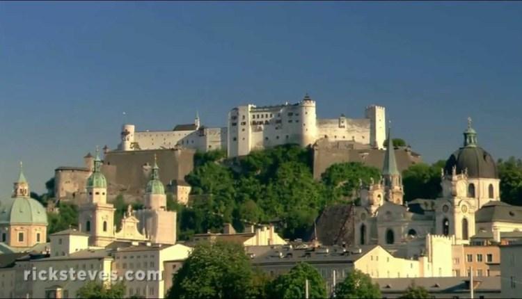 Framing The Beautiful Salzburg, Austria