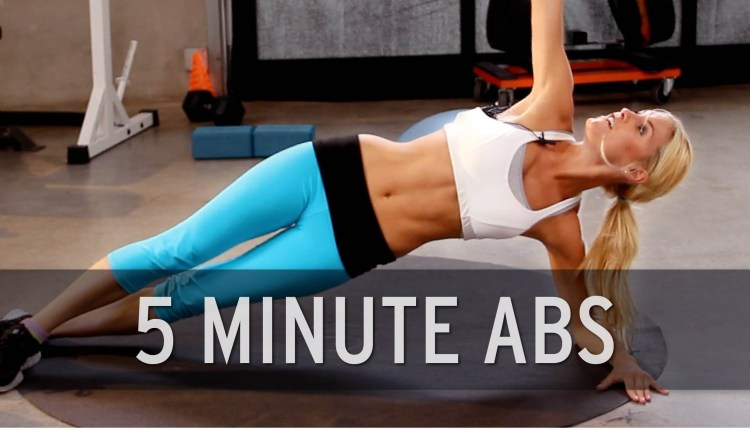 How To Lose Belly Fat – 5 Minute Abs
