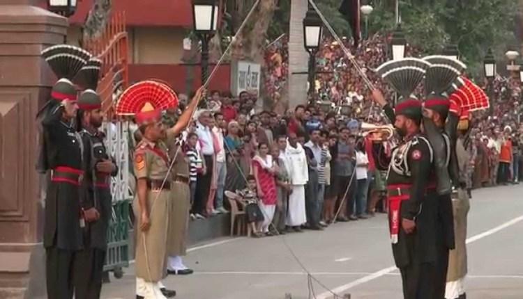 India Pakistan Wagah Border Ceremony