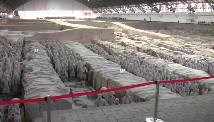 Qin Terracotta Warriors And Horses Museum