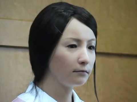 Real Human Looking Robot