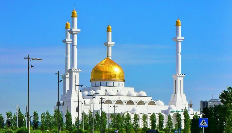 The Nur Astana Mosque In Kazakhstan