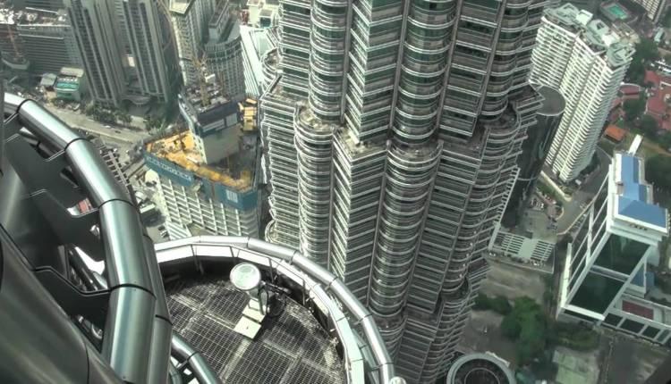 The Petronas Twin Tower Skybridge