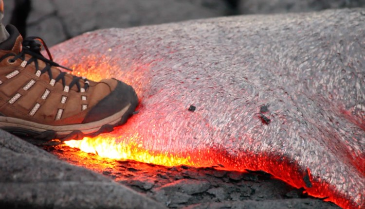 This Is What Happens When You Step On Lava