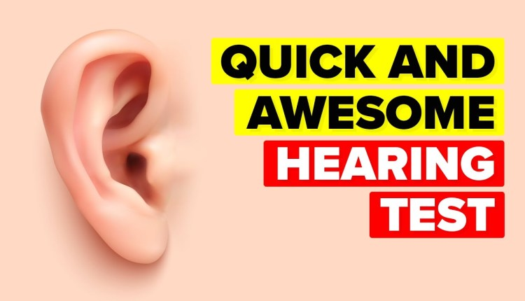Lets Take This Coolest Hearing Test