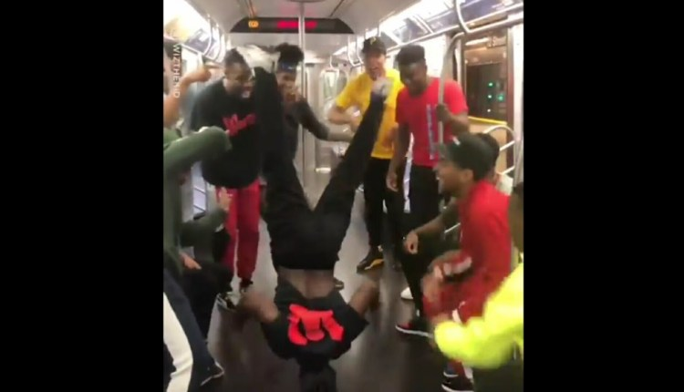 Talented People Perform In A Metro