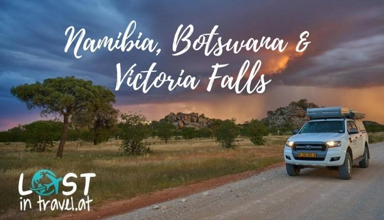 Namibia, Botswana Camping Road Trip Including Victoria Falls