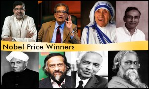 List of all Indian Noble Prize Winners