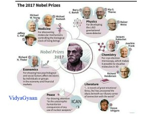 noble prize winners 2017