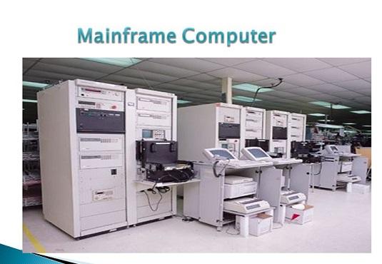 Mainframe Computer - VidyaGyaan