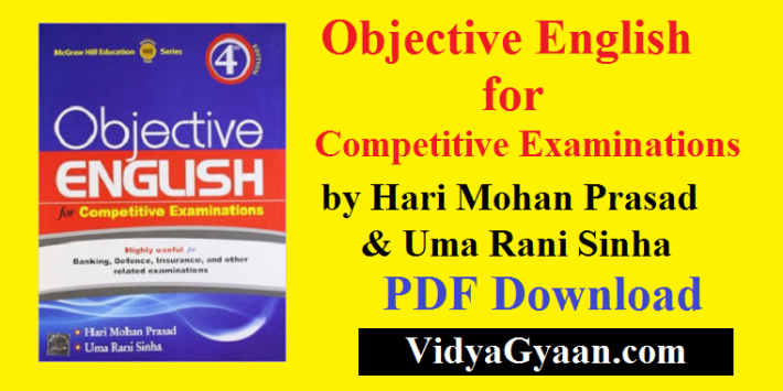 Objective English for Competitive Examinations by Hari Mohan Prasad PDF Download