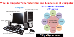 What is computer ? Characteristics and Limitations of Computer