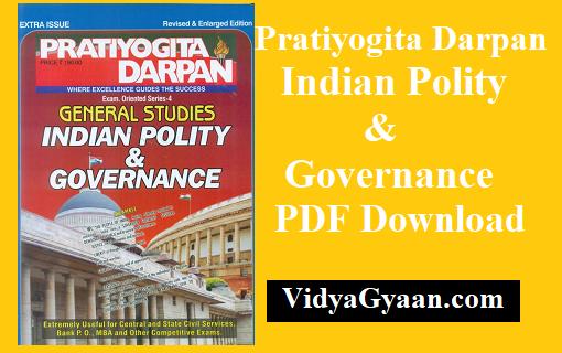Pratiyogita Darpan Indian Polity & Governance PDF