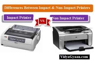 Differences Between Impact and Non-Impact Printers