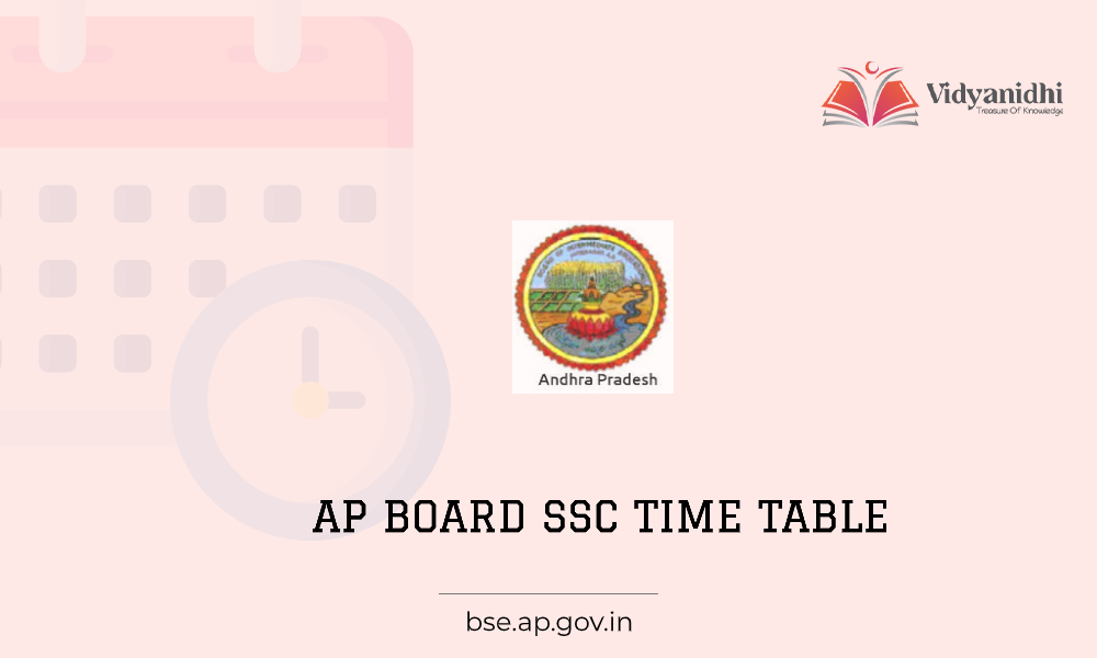 Andhra Pradesh Board SSC Time Table - Exam date sheet 2021 ( bse.ap.gov.in)