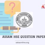 Assam HS model question paper 2021