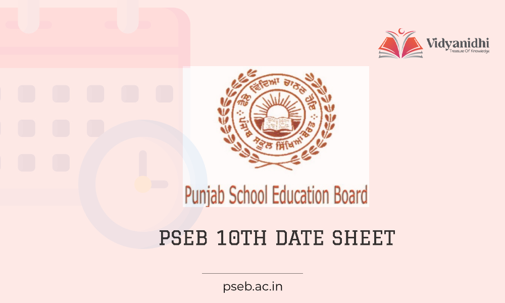Punjab Board class 10th date sheet- Exam time table 2021 (pseb.ac.in)