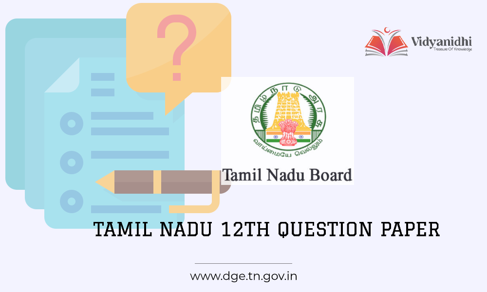 Tamil Nadu 12th model question paper 2021