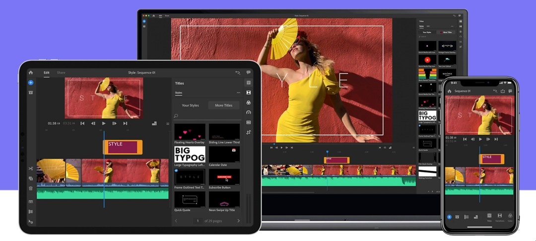 Adobe Premiere Rush is a powerful free video editing tool