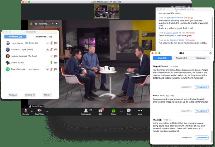 virtual event tool Zoom