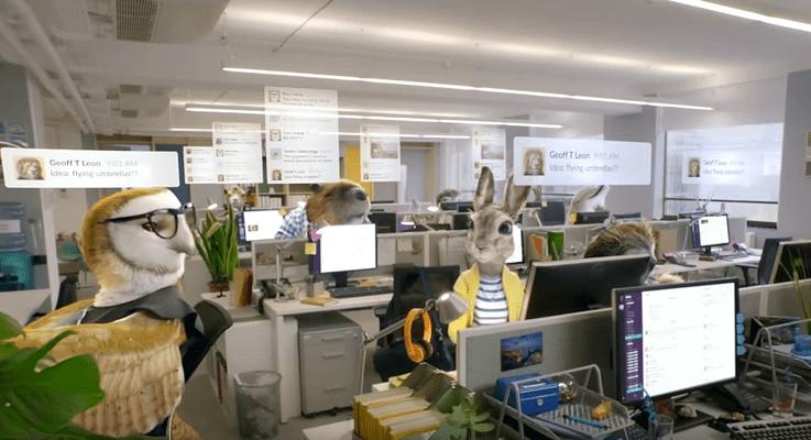 Slack product shot video
