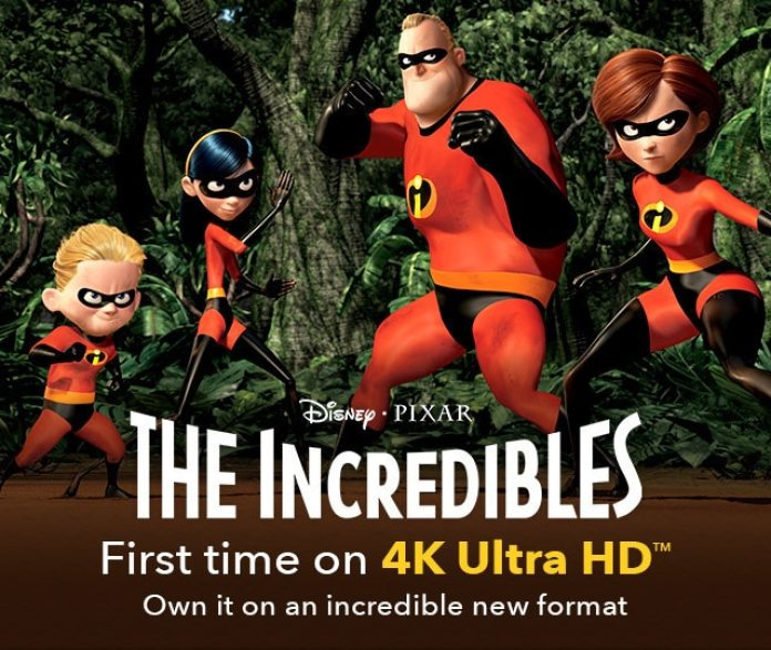 The Incredibles- Best superhero movies for kids