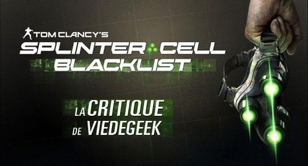 [Vie de Gamer] Splinter Cell Blacklist