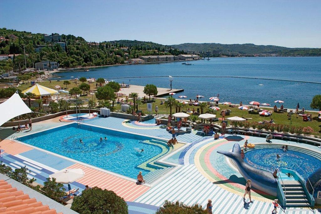 PORTOROSE hotel vile park: Kąpielisko