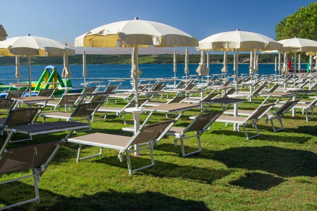 PORTOROSE hotel vile park : Spiaggia