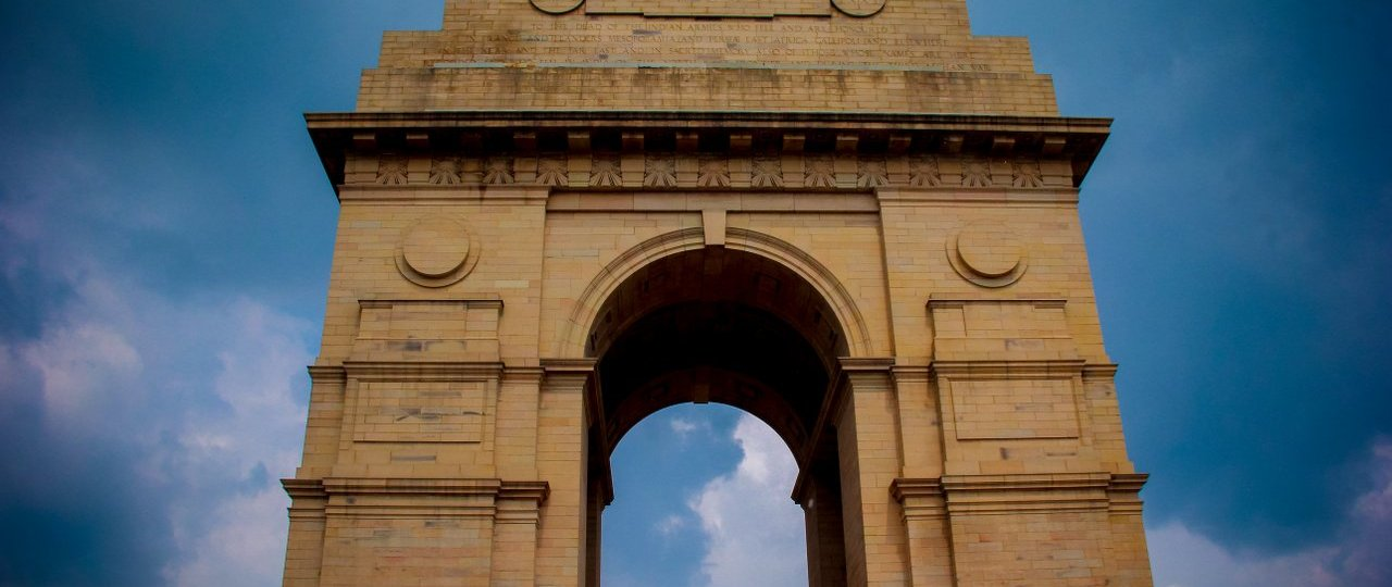 Delhi India Gate (Portão da Índia)