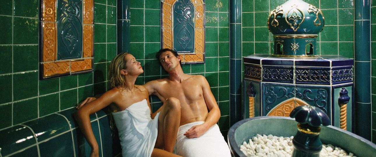 Portoroz Life Class Resort Park Saunas Baño turco Sauna verde
