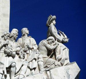 Portogallo Lisbona Monumento agli Esploratori