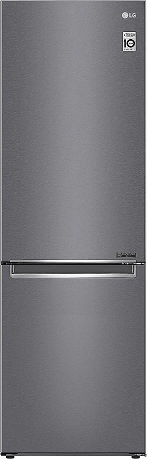 Combined refrigerator 384 lt. - inox dark graphite