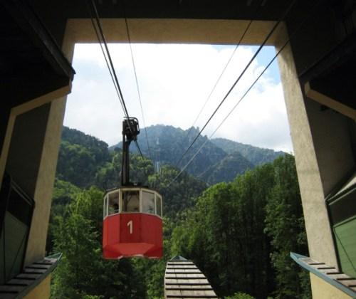 """Ausflug mit der Predigtstuhlbahn - """"Grande madame"""" der Seilbahnen"""