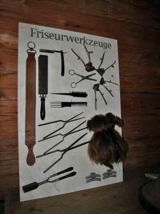 Frisörhandwerk alter Tradition