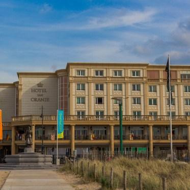 Noordwijk Holland Niederlande Hotel van Oranje