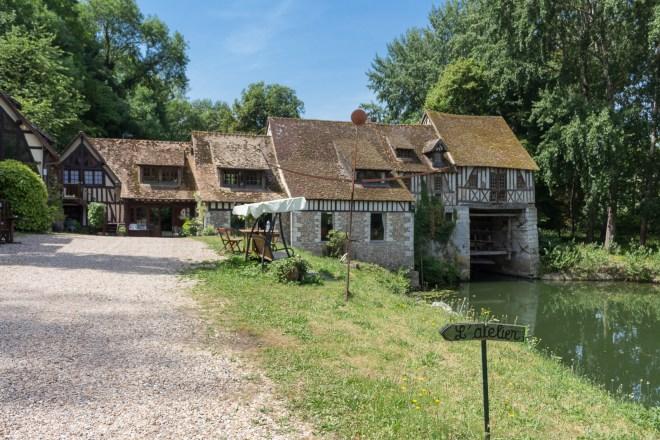 Moulin d'Andé, Normandie, Seine, Eure, Frankreich