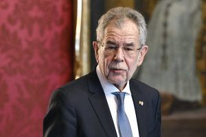 Bundespräsident Van der Bellen lud zu Gesprächen mit neuen Ministern