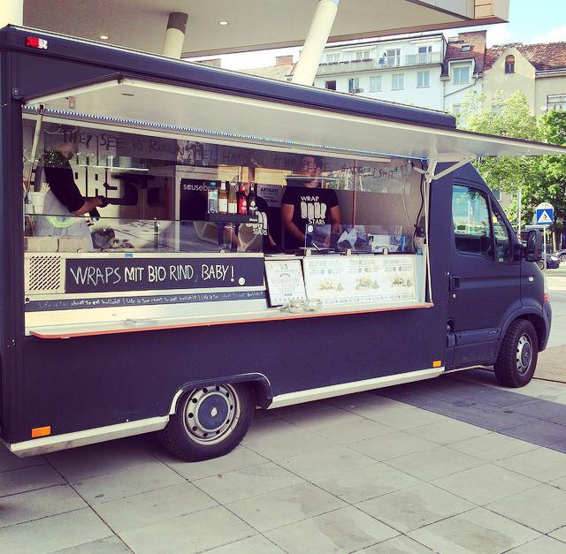 Streetfood: Wraps von den Wrapstars